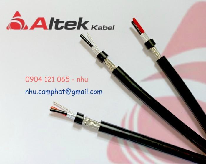 Cáp RS485 Altek Kabel ( Vặn xoắn chống nhiễu lưới và phôi nhôm )4