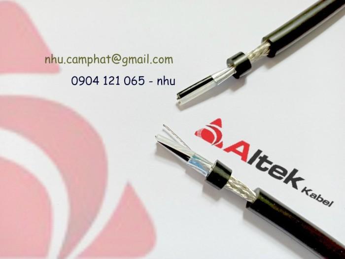 Cáp RS485 Altek Kabel ( Vặn xoắn chống nhiễu lưới và phôi nhôm )5