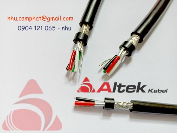 Cáp RS485 Altek Kabel ( Vặn xoắn chống nhiễu lưới và phôi nhôm )7