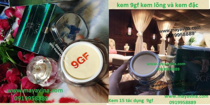 Kem 9GF Cao cấp Chống Lại 15 Dấu Hiệu Lão Hóa4