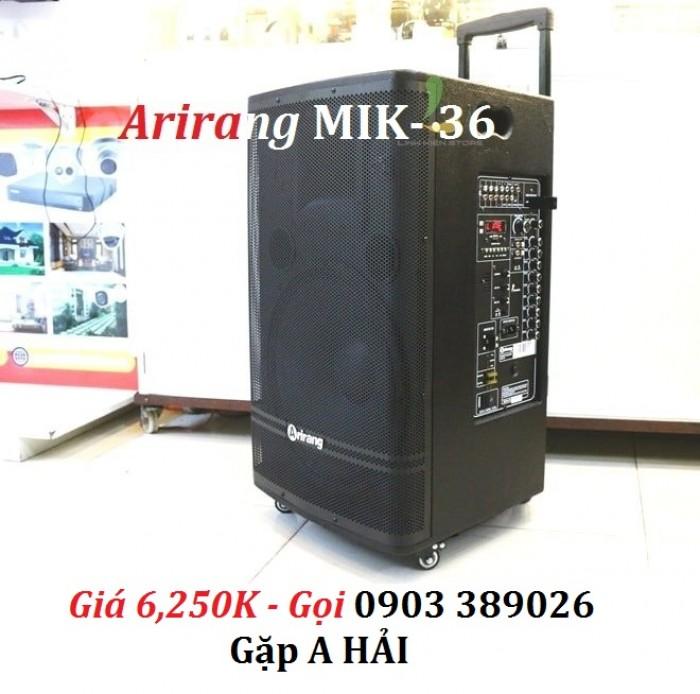 Loa kéo Arirang MIK-36 Loa kéo Arirang MIK-36 công suất cực mạnh lên đến 600W.