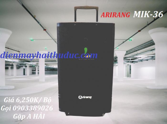 Loa kéo Arirang MIK-36 Hát ngay trên máy Android Karaoke có sẵn trên 12.200 bài hát MIDI Karaoke đầy đủ bản quyền của MASECO
