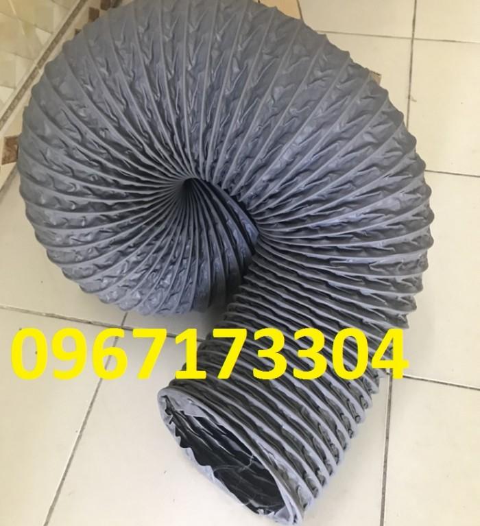 Chuyên phân phối ống gió mềm vải HÀN QUỐC Phi 75, Phi 100, Phi 125,....Phi 500