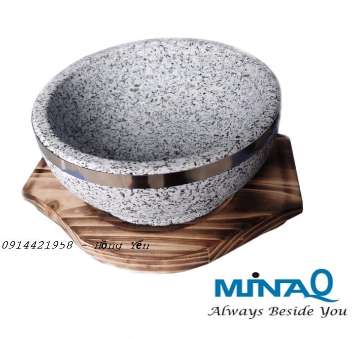 Thố đá giữ nhiệt, bát đá từ đá nguyên khối tự nhiên 100% - 8