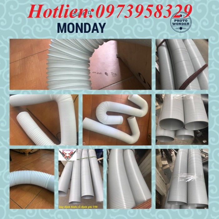 ống nhựa định hình pvc D100, D125, D150,0