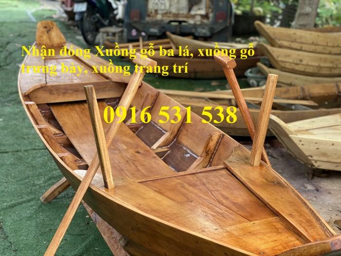 Đóng Xuồng gỗ, xuồng gỗ ba lá, xuồng gỗ 3m, 4m, 5m4