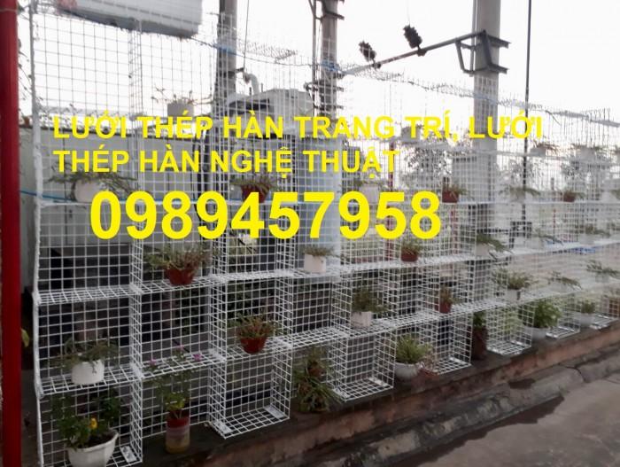 Lưới thép làm giàn phong lan, lưới thép bảo vệ vườn, lưới làm chuồng cọp1