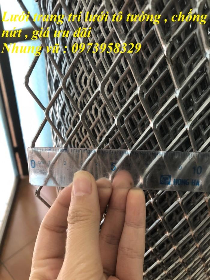 Lưới tô tường chốt nứt ô vuông phi 0.5 ( 5 x 5mm), dây 1 ( 10 x10mm)2