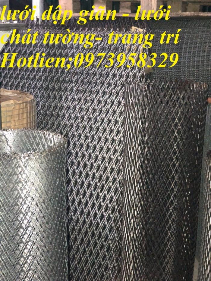 Lưới tô tường chốt nứt ô vuông phi 0.5 ( 5 x 5mm), dây 1 ( 10 x10mm)3