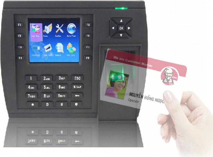 Bán Máy chấm công vân tay + thẻ cảm ứng MITA 8683: Dung lượng lớn0