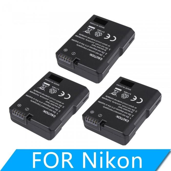 Pin máy ảnh EN-EL14 For Nikon EN-EL14 EL14a camera battery0