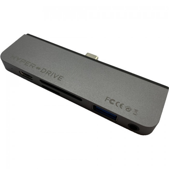 Cổng Chuyển Hyperdrive 6in1 HDMI 4K/60Hz Usb-C Hub For Macbook/Ipadpro/Lapt