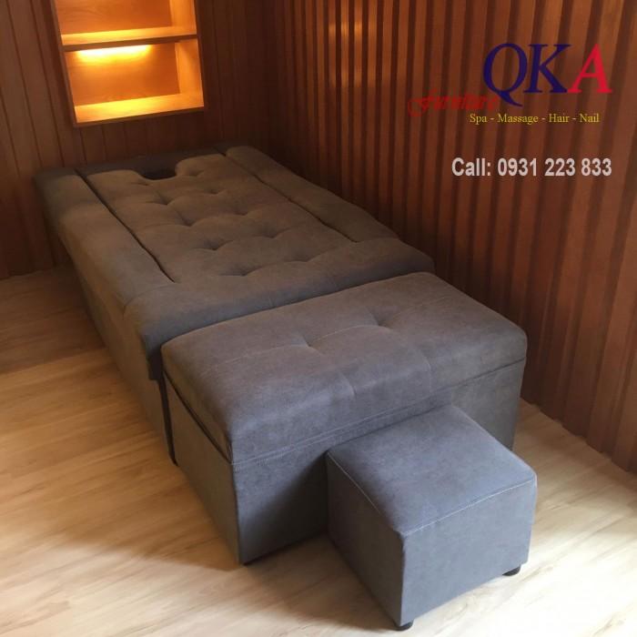 Ghế matxa chân mẫu 02 khi hạ tựa ở mức độ thấp nhất, ghế giống như một chiếc giường massage thực thụ Liên hệ tư vấn mua ghế Liên hệ: 0931 223 833 Địa chỉ: số 14 ngõ 31 Doãn Kế Thiện, Mai Dịch, Cầu Giấy, Hà Nội5