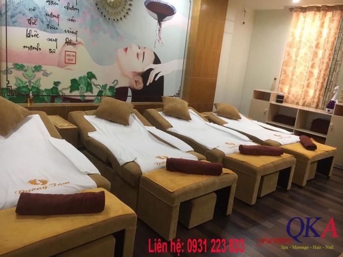 Ghế foot massage màu vàng đẹp 7