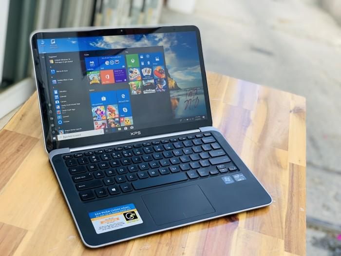 Laptop Dell XPS 13 Gen 3, I7 3537U 8G SSD256 Full HD Đèn phím Đẹp keng zin 104