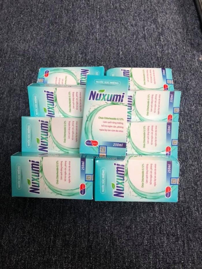 Nước súc miệng sát khuẩn Nuxumi3