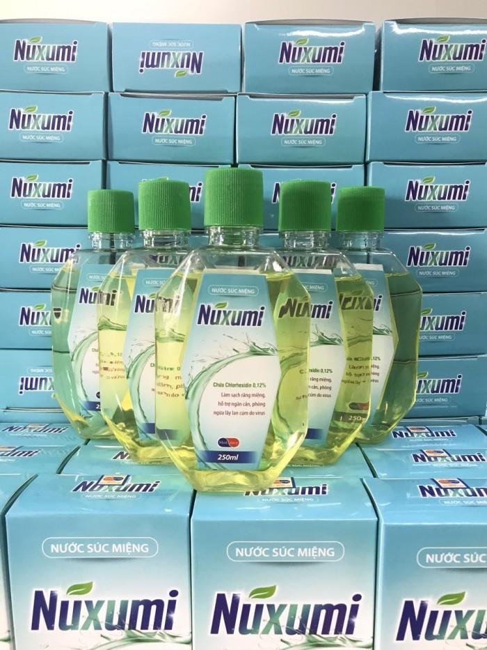 Nước súc miệng sát khuẩn Nuxumi4