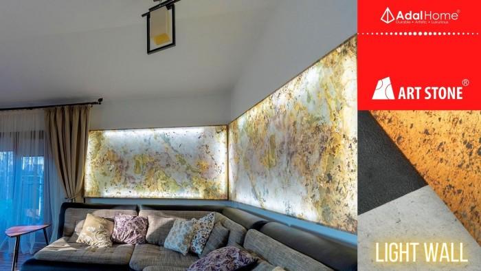Đá dán tường , đá ốp tường siêu mỏng xuyên sáng Art Stone Light Wall là cuộc cách mạng trang trí  +Đá dán xuyên sáng siêu mỏng +Đá ốp tường, ốp trầnsiêu nhẹ +Đá trang trí siêu tiết kiệm +Thi công đá ốp tường, trang trí phòng bếp, ốp bếp, trang trí phòng khách, dán tường phòng ngủ cực kỳ đơn giản +Đá ốp tường không gỉ sét, không thấm nước, có thể ốp tường phòng tắm. +Đá trang trí dẻo, uốn để ốp quầy bar, cầu thang cuốn +Đá ốp tường, đá dán tường an toàn, thân thiện với người sử dụng7