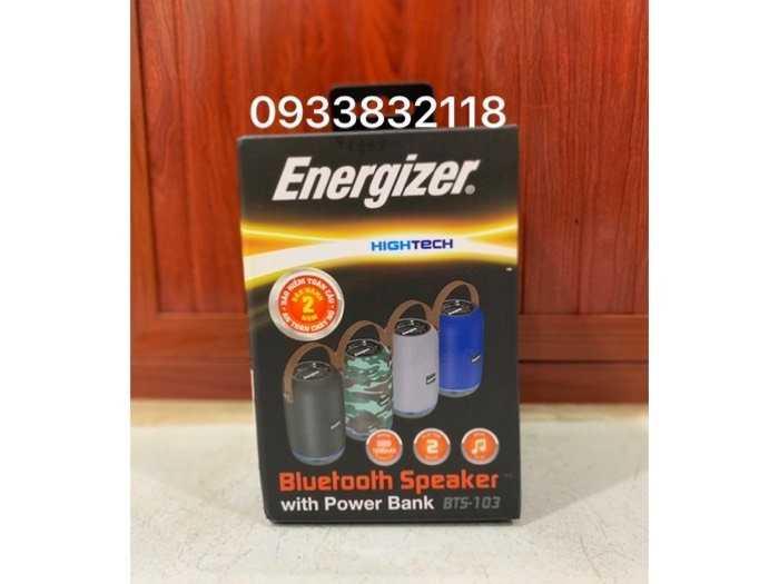 Loa Bluetooth tích hợp sạc dự phòng Energizer0