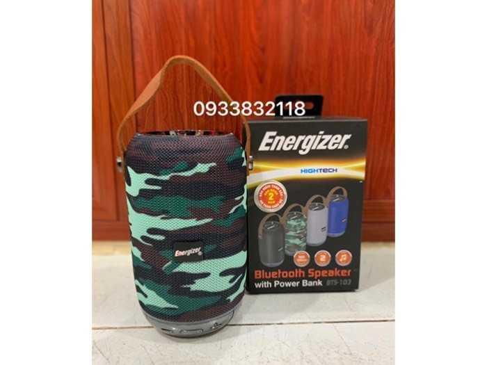 Loa Bluetooth tích hợp sạc dự phòng Energizer3