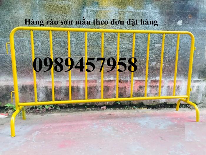 Rào chắn barie, hàng rào di động 1mx2m, 1,5mx2m8