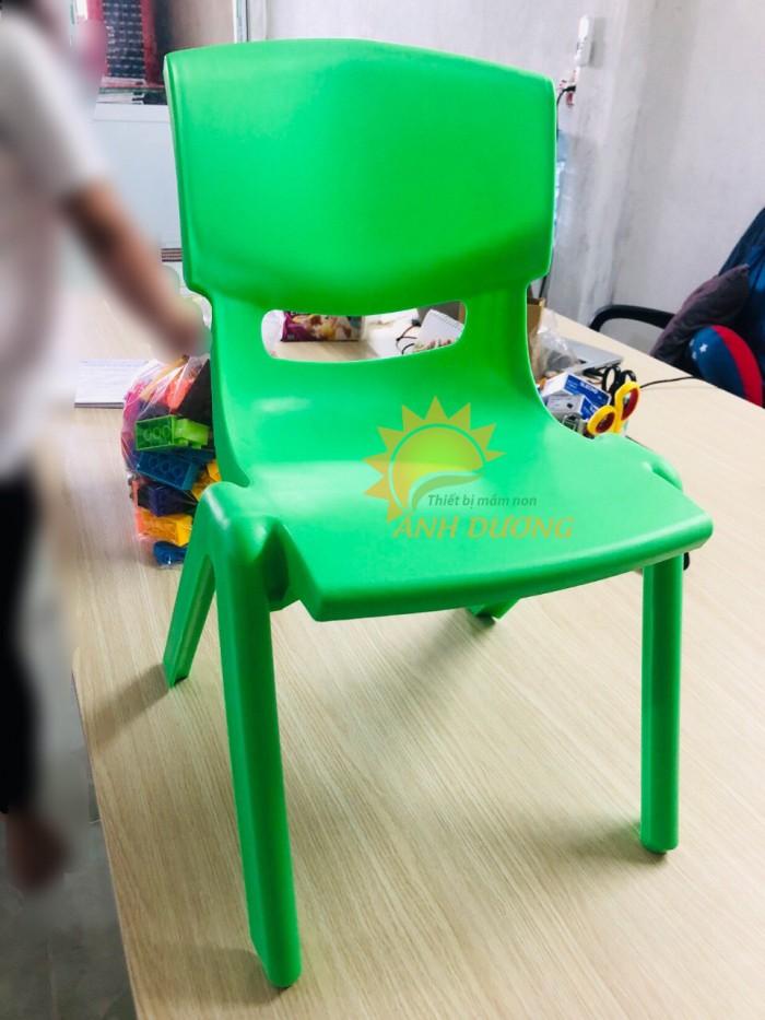 Ghế nhựa đúc nhập khẩu bền chắc, nhiều màu sắc cho trẻ em giá TỐT4