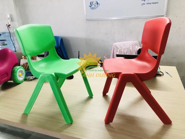 Ghế nhựa đúc nhập khẩu bền chắc, nhiều màu sắc cho trẻ em giá TỐT6