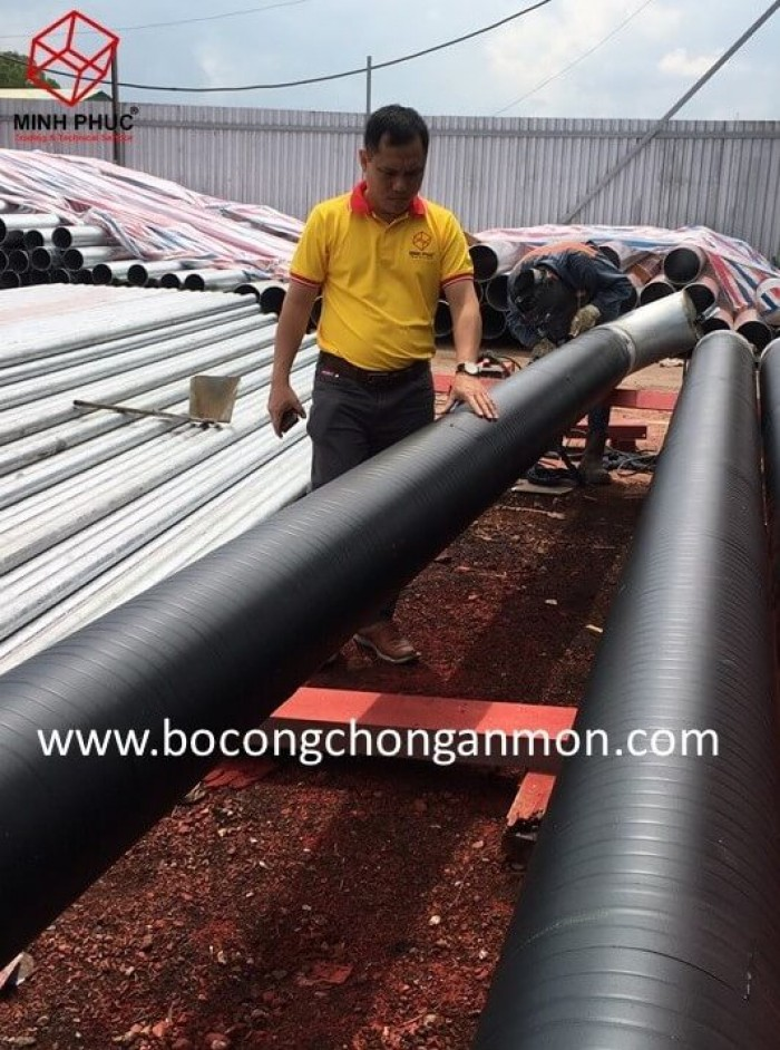 Premcote 150 - Băng quấn bitum, chống ăn mòn đường ống kim loại2
