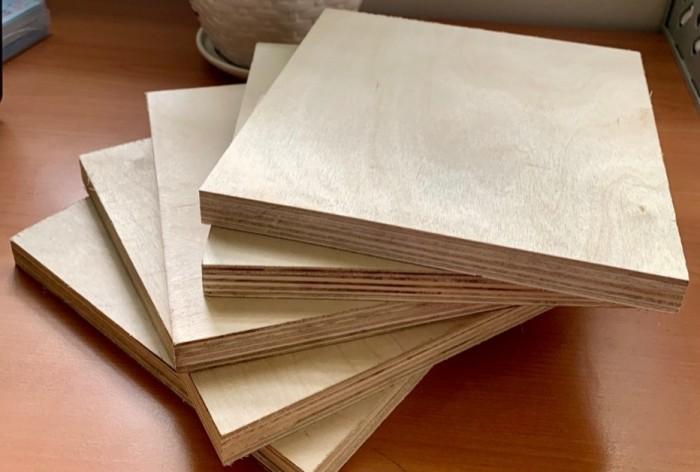 Ván gỗ dán mặt Bạch dương (Birch) dùng cho nội thất.1