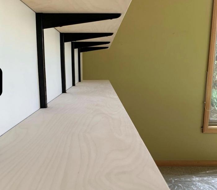 Ván gỗ dán mặt Bạch dương (Birch) dùng cho nội thất.2