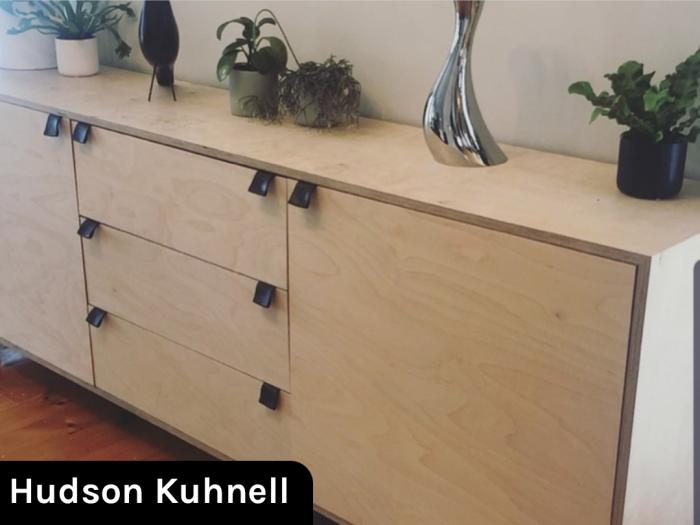 Ván gỗ dán mặt Bạch dương (Birch) dùng cho nội thất.4