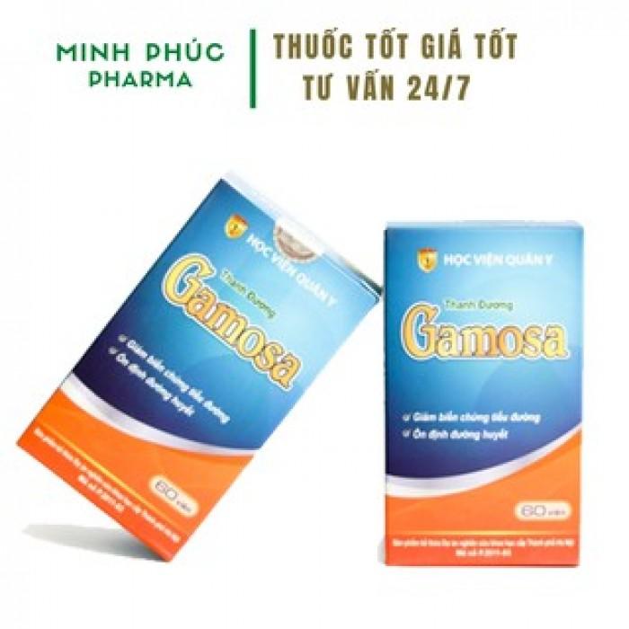 Thanh Đường Gamosa - Sản phẩm hỗ trợ tốt nhất cho người mắc tiểu đươ1
