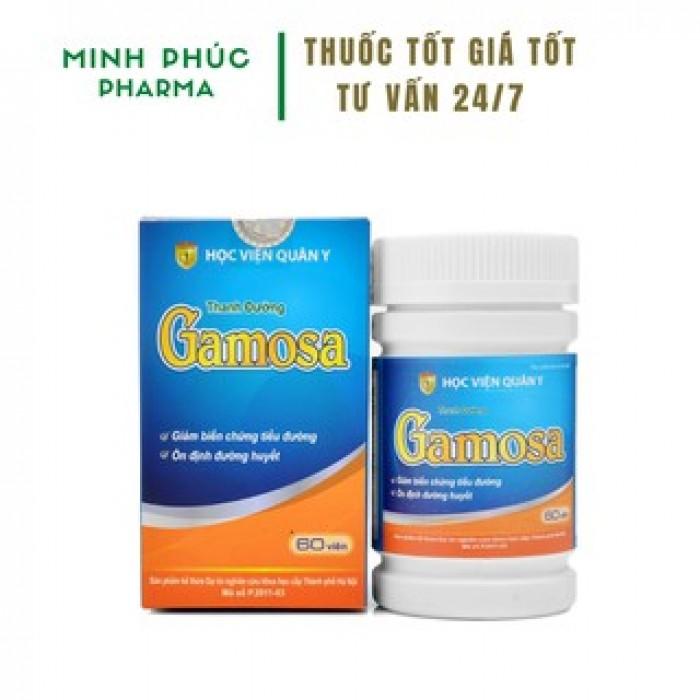 Thanh Đường Gamosa - Sản phẩm hỗ trợ tốt nhất cho người mắc tiểu đươ0