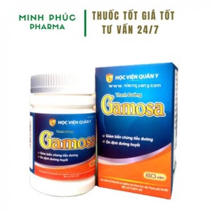 Thanh Đường Gamosa - Sản phẩm hỗ trợ tốt nhất cho người mắc tiểu đươ2
