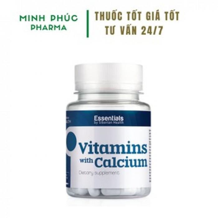 Thực phẩm bảo vệ sức khỏe Essentials by Siberian Health. Vitamins with Calciu0