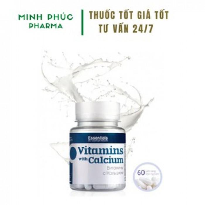 Thực phẩm bảo vệ sức khỏe Essentials by Siberian Health. Vitamins with Calciu1