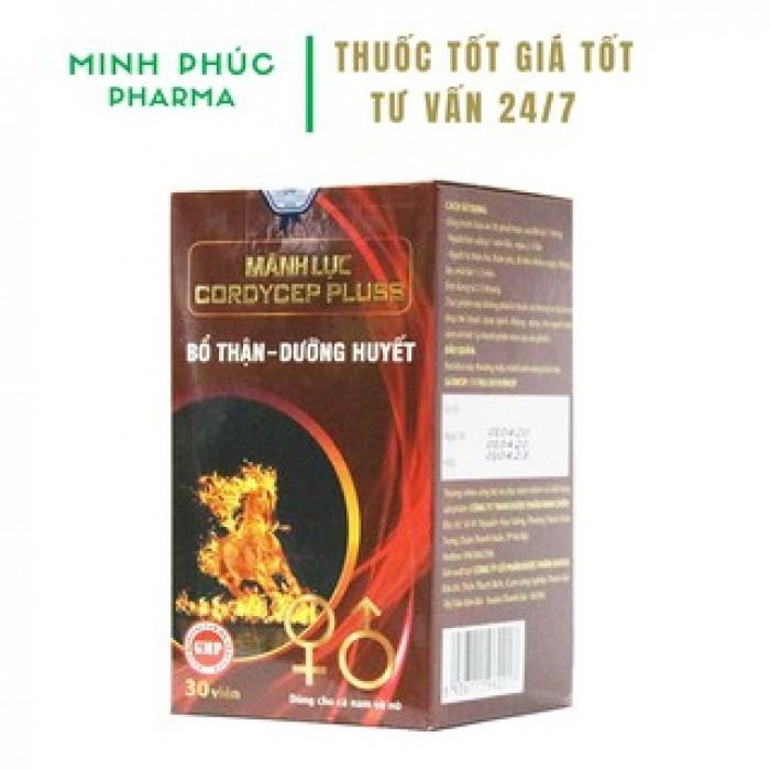 Mãnh Lực Cordycep Plus - Bổ Thận, Tráng Dương, Tăng Cường Sinh Lý0