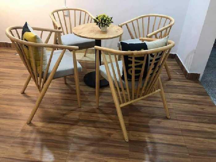 Ghế gỗ cafe genny giá tại kho