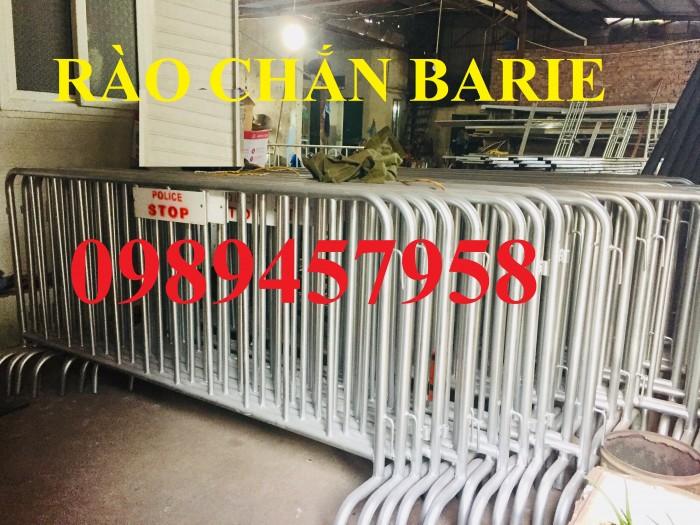 Hàng rào barie phân luồng giao thông, hàng rào an ninh mạ kẽm