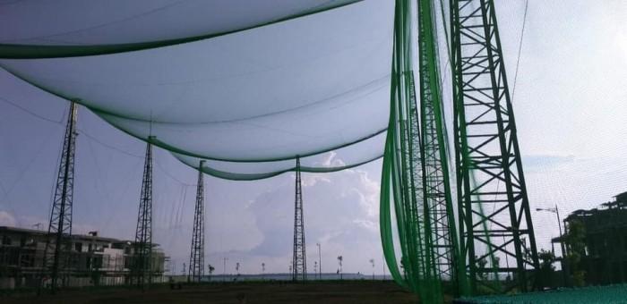 Lưới bao che sân tập golf ( lưới golf hàn quốc)2