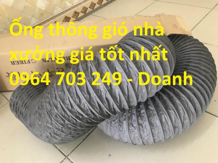Ống gió mềm vải  Hàn Quốc dùng thông gió thông khí phi 200, phi 250, phi 300,...1