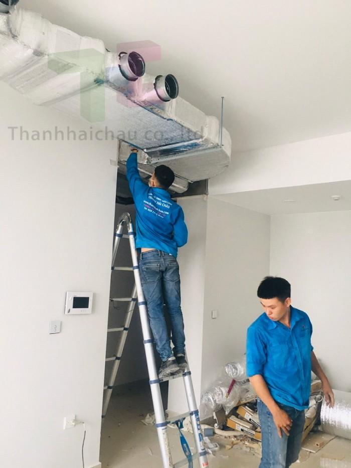 Chuyên thi công lắp đặt máy lạnh âm trần cho chung cư/ căn hộ uy tín chất lượ2