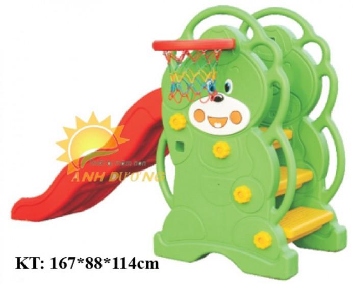 Đồ chơi cầu trượt nhựa trẻ em cho trường mầm non, công viên, khu vui chơi1