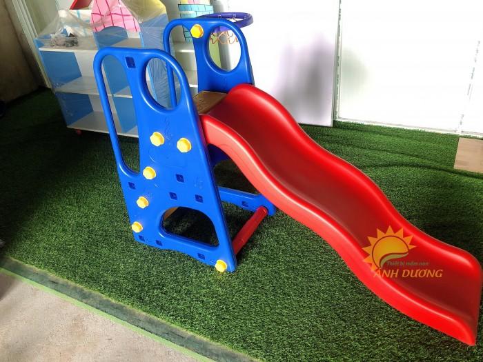 Đồ chơi cầu trượt nhựa trẻ em cho trường mầm non, công viên, khu vui chơi5