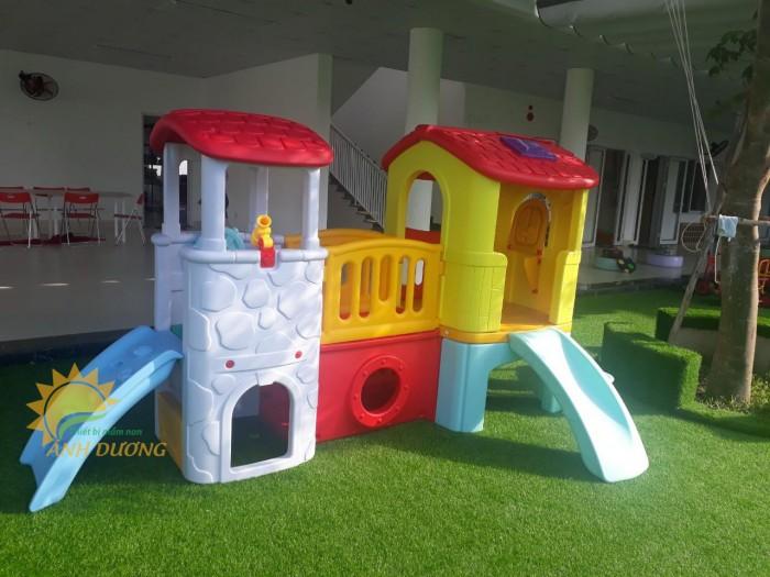 Đồ chơi cầu trượt nhựa trẻ em cho trường mầm non, công viên, khu vui chơi7