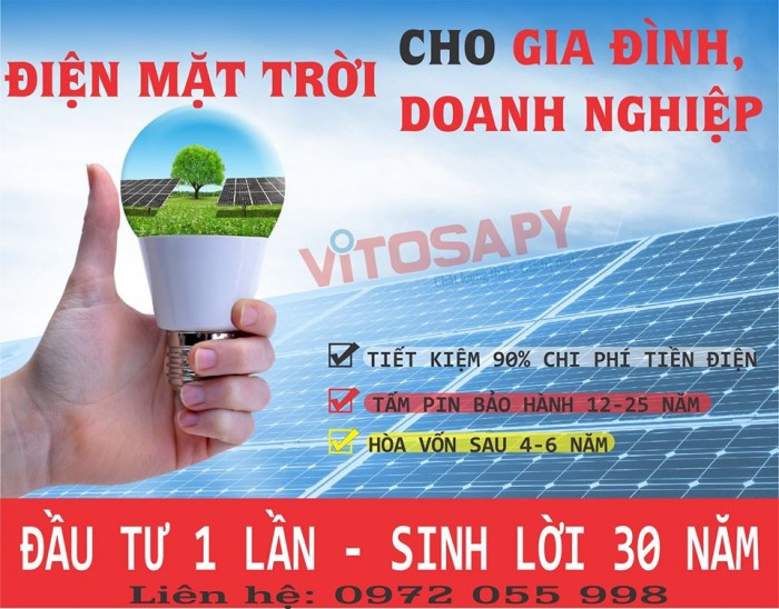 Lắp đặt, cung cấp Điện năng lượng mặt trời0
