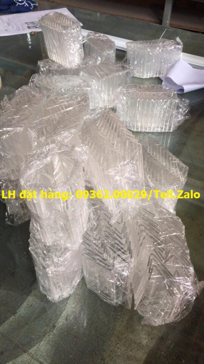 Bảng mica để giá sản phẩm- Kệ giá tiền mica trong uốn chữ L13