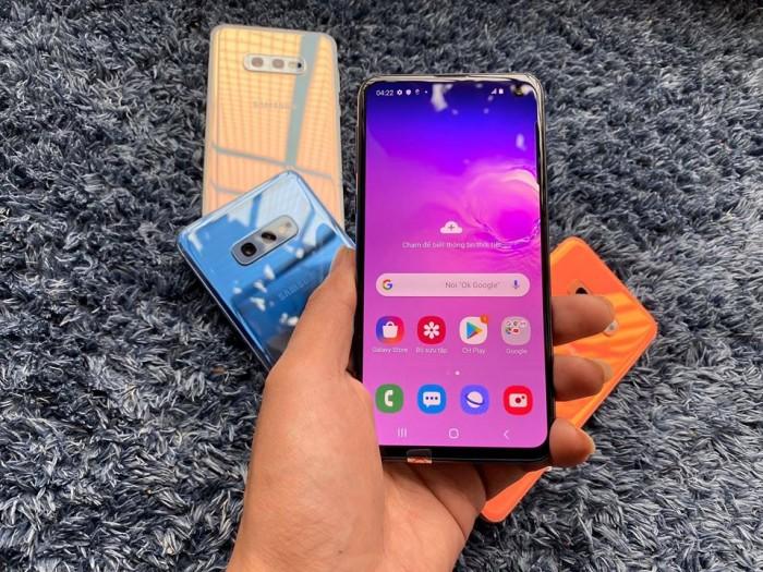 Điện thoại Samsung Galaxy S10e Bản Mỹ Hiếm Mới 100%|| Nhỏ gọn - Cấu hình mạnh1