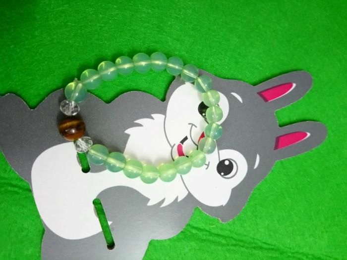 Chuỗi đeo tay siêu đẹp xanh lá2