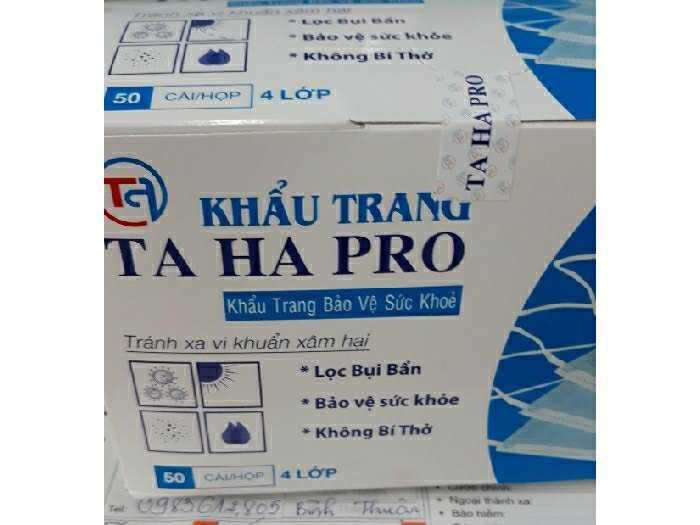 Khẩu Trang 4 lớp kháng khuẩn chống nước3